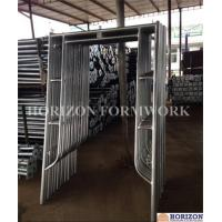 Quality Walk Thru Steel Frame Scaffolding Slide Lock High Bearing Capacity 5
