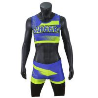 China 2020 Hot Design Custom Cheer Dance Clothes Bra And Shorts Uniform For Ladies on sale