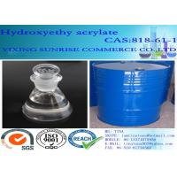 Buy cheap Clear Chemistry Intermediate Colorless Hydroxyethyl Acrylate Liquid CAS 818-61-1 product