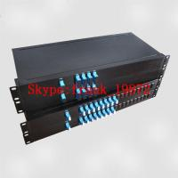 China 100GHz/200GHz DWDM Module package in 1U Rackmount, Dense Wavelength-division multiplexing on sale