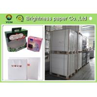 Buy cheap C1S ivory card Printing Paper , FBB White Back cardboard paper sheet/roll from wholesalers