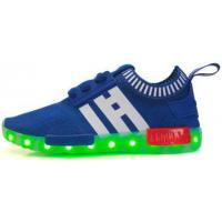 China Children Toddler Boy Light Up Shoes , USB Rechargeable Lighted Tennis Shoes on sale