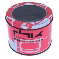 New Generation Watch Metal Tin Container With Transparent Window