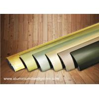 Buy cheap Multi Use Curved Surface Aluminium Floor Trims With Brushed Effect For Hotel from wholesalers