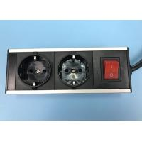 Buy cheap Multi Outlet European Starndard 2 Outlet Power Strip , Aluminum Shell Germany from wholesalers
