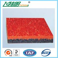 Quality 13MM Rubber Running Track system  for  Outdoor Athletics Track for sale