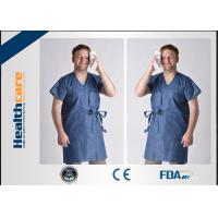 Buy cheap Nonwoven Disposable Isolation Gowns Colorful Clothing Single Use For Beauty Salon from wholesalers