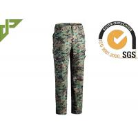 Quality Multicam Military Grade Cargo Pants / Camouflage Woodland Tactical Pants For Hunting for sale