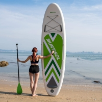"""Quality 3 Fin 10.5'X33""""X6"""" Inflatable Stand Up Paddle Board for sale"""