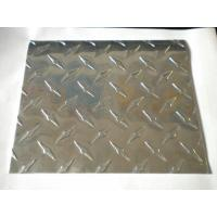 Quality 0.30~6.0 Thickness Aluminum Embossed Sheet / Plate With Various Width For Refrigerator for sale
