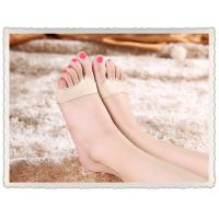 breathable fabric silicone gel ball of foot metatarsal cushion pad