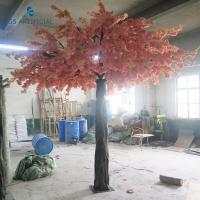 China Safe Artificial Flower Arrangements Cherry Blossom Tree For Wedding / Party on sale