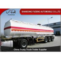 Buy cheap Professional 45000 Liters Fuel Tanker Semi Trailer With 5 Compartments  from wholesalers