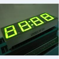 China Super Green 0.56 Inch Clock LED Display , Common Anode 7 Display on sale