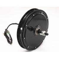 Quality Lightweight Brushless Dc Motor For Ebike Black Rear Position Energy Saving for sale