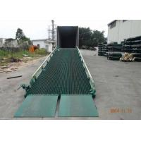 Truck Lifting Mobile Yard Ramp Optional Color With CE Certification