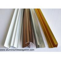 Quality Anodized Aluminium Tile Edge Trim / Cladding Trim For Integrated Wallboard for sale