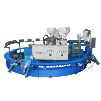 Quality automatic two color pvc jelly and air blowing shoe injection molding machine for sale