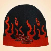 Quality 100% Acrylic Knitted Jacquard Hat for sale