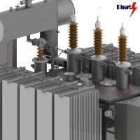 Quality Two Winding Oil Immersed Transformer Three Phase Customized 50hz 200mva for sale