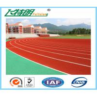 Quality Synthetic Running Track Spray Coating System Or Paint System Running Track For Track Field for sale