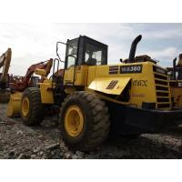 Quality 5 Ton Used KOMATSU Loader WA380-3 New Paint 2010 Year 6 Cylinders No Oil Leakage for sale