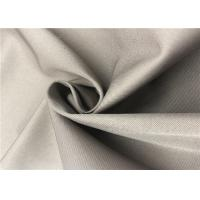Quality 2/1 Twill Coated Polyester Fabric Cold Proof Anti Friction For Jacket / Winter Coat for sale