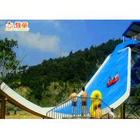 Quality 2 Riders Swimming Pool Water Slides / Water Park Playground Equipment for sale