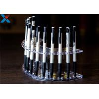 Quality Silkscreen Logol Small Acrylic Display Stands Acrylic Pencil Holder 200 * 100 * 80mm for sale