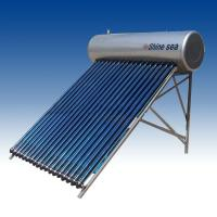 China Evacuated tube solar water heater system on sale