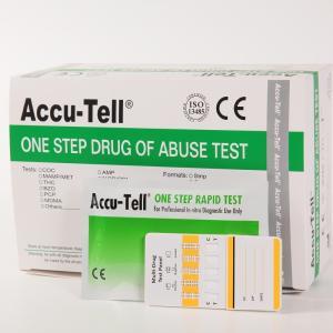 Quality Accu-Tell® Multi-Drug Rapid Test Panel (Urine) for sale