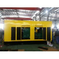 Quality High Efficiency  diesel power generator Cummins 500KW 625KVA Anti-Vibration for sale