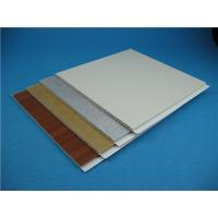 China Customized Colour Pvc Wall Cladding Panels For Construction , Quick Maintenance on sale