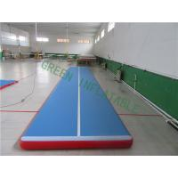 Quality Waterproof Inflatable Gymnastics Track , Modern Inflatable Floor Mats for sale
