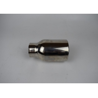Quality Stainless Steel Auto 51mm Inlet SS201 Exhaust  Pipe Tips for sale