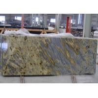 Tiger Yellow Granite Kitchen Countertops For Commercial / Residencial