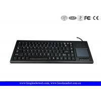 Quality Rugged Plastic Industrial Keyboard With Function Keys And Integrated Touchpad for sale