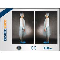 Quality Colorful Disposable Isolation Gowns PP Surgical Wear 110x137CM With Elastic Cuff for sale