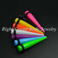 Candy Color Ear Stretchers Tapers UV Acrylic 18mm 16 Gauge