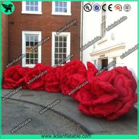 Quality Giant Inflatable Rose, Inflatable Rose Flower,Event Inflatable Flower Chain for sale