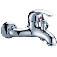 Buy cheap Brass Wall Mounted One Handle Mixer Taps Shower Faucet , 0.05MPa - 0.9MPa from wholesalers