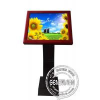 Quality Full HD Sensor Touch Screen Kiosk Digital Signage , 19 Inch LCD Advertising Players for sale