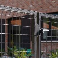 China Wire Mesh Galvanizing Metal Fence Gate 1000mm / 1500mm Width High Strength on sale