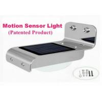 Quality Professional Good Solar Motion wall light ItemC with global good market for sale