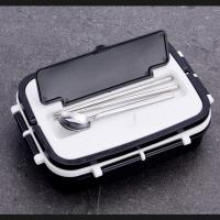 Quality Leak Proof Thermal Stainless Steel Custom Logo Lunch Box Eco - Friendly for sale