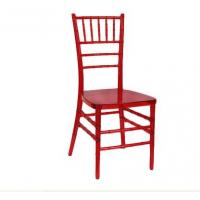 Quality PC Clear Transparent Resin China Tiffany Chair for Wedding for sale