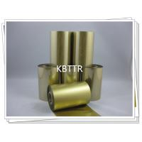 Quality Resin material metallic gold thermal ribbon for sale
