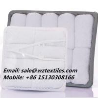 Quality 100% cotton white airline towels for sale