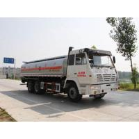China Shaanxi Automobile Delong tanker (CSC5255GYYS Chu wins tanker ) on sale