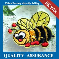China china factory bag embroidered patch,high quality embroidered patch for bag,wholesale iron on embroidered patch for bag on sale